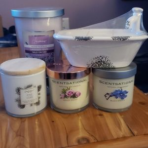 Candle bundle all new